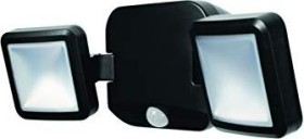 Osram Ledvance Battery LED spotlight Double 10W 4000K wall lamp black (227361)