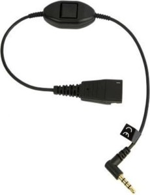 Jabra adapter cable QD/3.5mm-jack (8800-00-103)