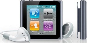 Apple iPod nano 16GB graphit (6G) (MC694*/A)