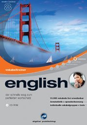 digital Publishing: interactive language tour V8: vocabulary trainer English (PC)