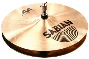 "Sabian AA Medium-Heavy top/Extra-Heavy Bottom fusion Hi-Hats 13"" (SA21350B)"