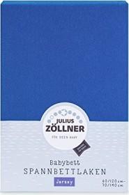 Zöllner blickdichtes Jersey Spannbetttuch Premium 60x120-70x140 Stella blue TOP