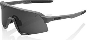 100% S3 matte cool grey/smoke lens-clear lens (61034-007-57)