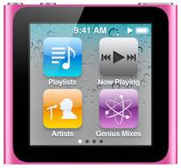 Apple iPod nano 16GB pink (6G) (MC698*/A)