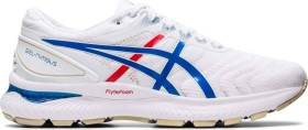 Asics Gel-Nimbus 22 white/electric blue (Herren) (1011A780-100)