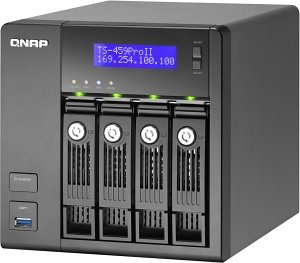 Qnap Turbo station TS-459 Pro II 3000GB, 2x Gb LAN