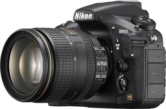 Nikon D810 black with lens AF-S VR 24-120mm 4.0G ED (VBA410K001)