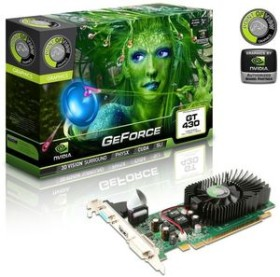 Point of View GeForce GT 430, 500MHz, 1GB DDR3, VGA, DVI, HDMI (VGA-430-A5-1024)