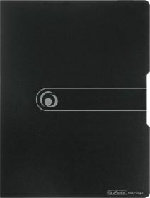 Herlitz easy orga to go Sichtbuch A3 mit 20 Klarsichthüllen, schwarz (11207818)