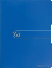 Herlitz easy orga to go Sichtbuch A3 mit 20 Klarsichthüllen, blau (11207826)