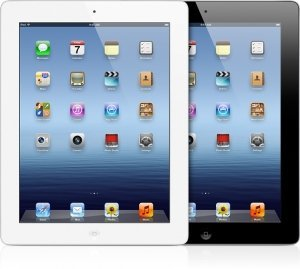 Apple iPad Wi-Fi + 4G 64GB schwarz (3. Generation) (MD368FD/A)