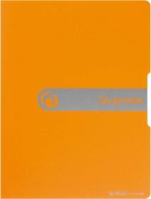 """Herlitz easy orga to go Sichtbuch A4 mit 20 Klarsichthüllen, """"Zeugnisse"""" orange (11208378)"""