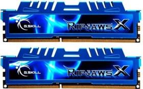 G.Skill RipJawsX blau DIMM Kit 4GB, DDR3-1866, CL9-10-9-28 (F3-14900CL9D-4GBXM)