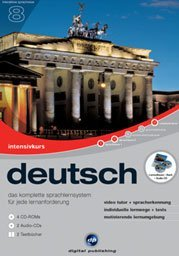 digital Publishing: interactive language tour V8: intensive course German (PC)
