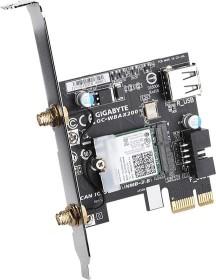 Gigabyte GC-WBAX200, 2.4GHz/5GHz WLAN, Bluetooth 5.0 LE, PCIe x1