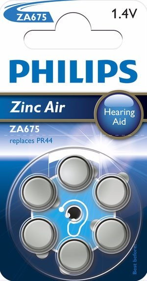 Philips ZA675B (PR44/PR1154), 6er-Pack