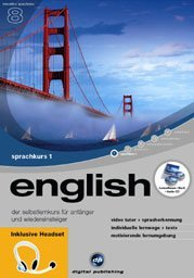 digital Publishing: interactive language tour V8: English Part 1 + headset (PC)