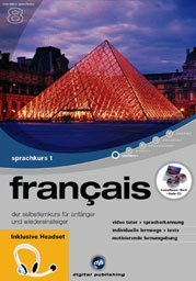 digital Publishing: interactive language tour V8: français Part 1 + headset (PC)