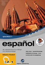 digital Publishing: interactive language tour V8: Spanish Part 1 + headset (PC)