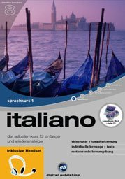 digital Publishing: interactive language tour V8: Italian Part 1 + headset (PC)