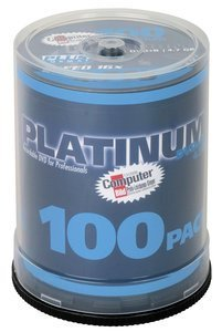 BestMedia Platinum DVD+R 4.7GB 16x, 100-pack Spindle (100123)