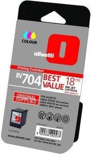 Olivetti Druckkopf mit Tinte IN704 farbig hohe Kapazität (B0629)