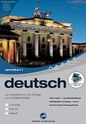 digital Publishing: interactive language tour V8: German Part 1 + headset (PC)
