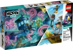 LEGO Hidden Side - Gekenterter Garnelenkutter (70419)