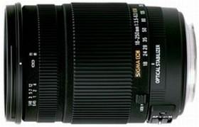 Sigma AF 18-250mm 3.5-6.3 DC OS HSM für Canon EF schwarz (880954)