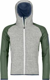 Ortovox Merino Fleece Plus Classic Knit Hoody Jacke green forest (Herren) (86942)