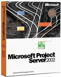 Microsoft: Project 2002 Server, incl 5 Client licenses (English) (PC) (H22-00370)