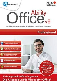 Avanquest Ability Office 9 Professional (German) (PC)