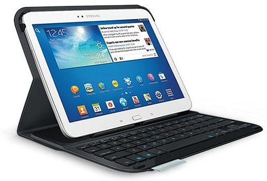 Logitech Ultrathin Keyboard Folio for Samsung Galaxy Tab 3 10.1, black, UK (920-005811)
