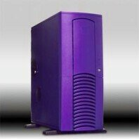 Chieftec Dragon DX-01PLD, Midi-Tower, purple, noise-insulated (without power supply) -- © CWsoft