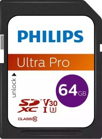 Philips Ultra Pro R100 SDXC 64GB, UHS-I U3, Class 10 (FM64SD65B/00)
