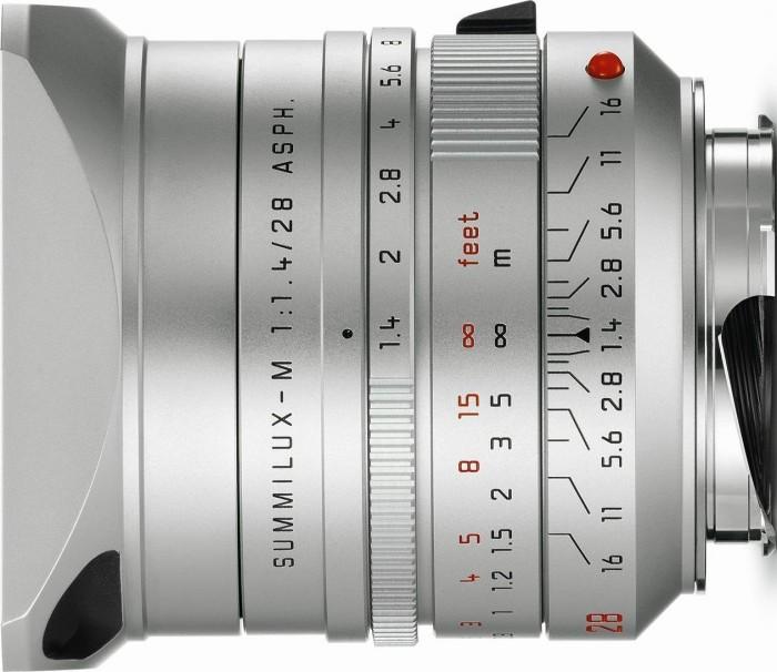 Leica Summilux-M 28mm 1.4 ASPH silber (11911)