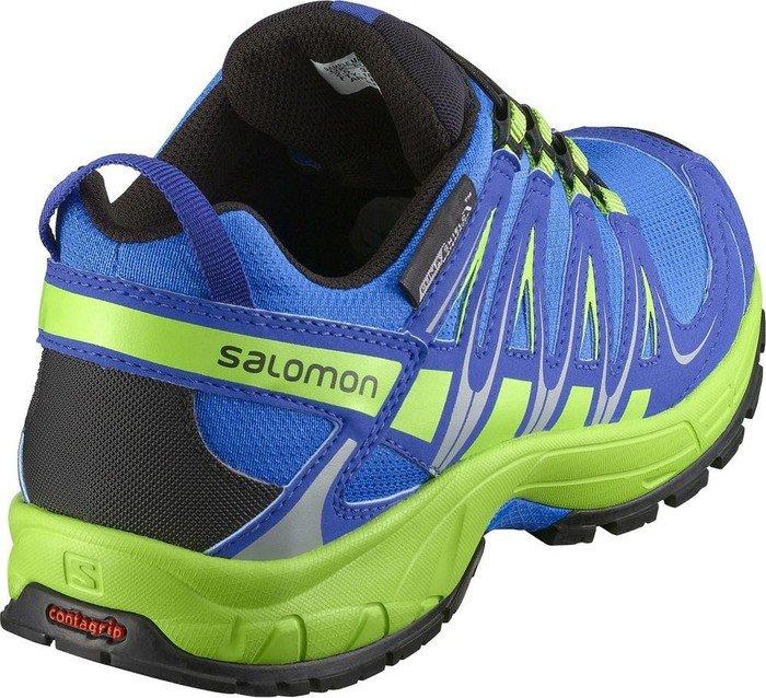 Salomon XA Pro 3D CS WP J blue green (Junior) (376482)  6fedb602f2b2f