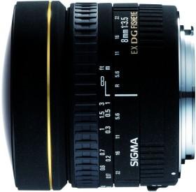 Sigma AF 8mm 3.5 EX DG Zirkular Fisheye für Nikon F schwarz (485944)
