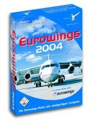 Flight Simulator 2004 - Eurowings 2004 (Add-on) (niemiecki) (PC)