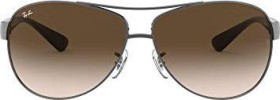 Ray-Ban RB3386 67mm gunmetal-black/brown gradient (RB3386-004/13)