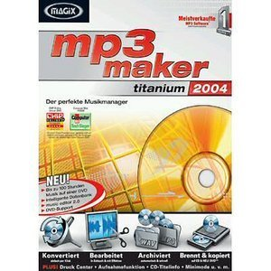 Magix: MP3 Maker Titanium 2004 (niemiecki) (PC)