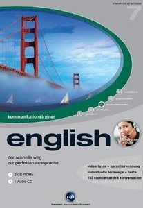 digital Publishing: interactive language tour V7: communications trainer English (PC)