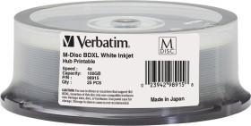 Verbatim M-DISC BD-R XL 100GB 4x, 25-pack Spindle printable (98915)