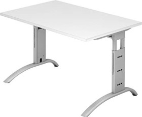 Hammerbacher Ergonomic Plus F-Serie FS12/W, weiß, Schreibtisch