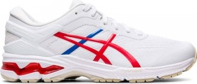 Asics Gel-Kayano 26 white/classic red (Herren) (1011A771-100)