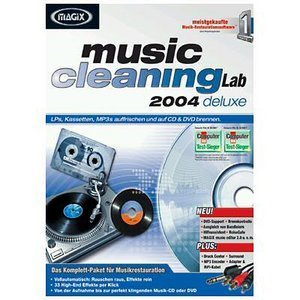 Magix: Music Cleaning Lab 2004 DeLuxe (PC)