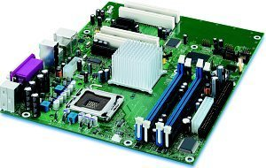 Intel D915GAV [dual PC-3200 DDR]