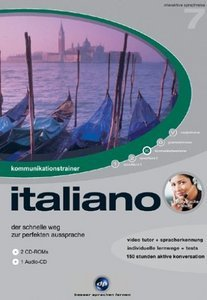 digital Publishing: interactive language tour V7: communications trainer Italian (PC)