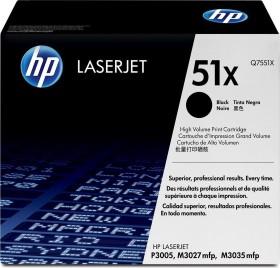 HP Toner 51X schwarz (Q7551X)