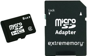 extrememory microSDHC 8GB, Class 2 (2330019)